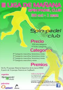 III Liga Mañana Spin Padel